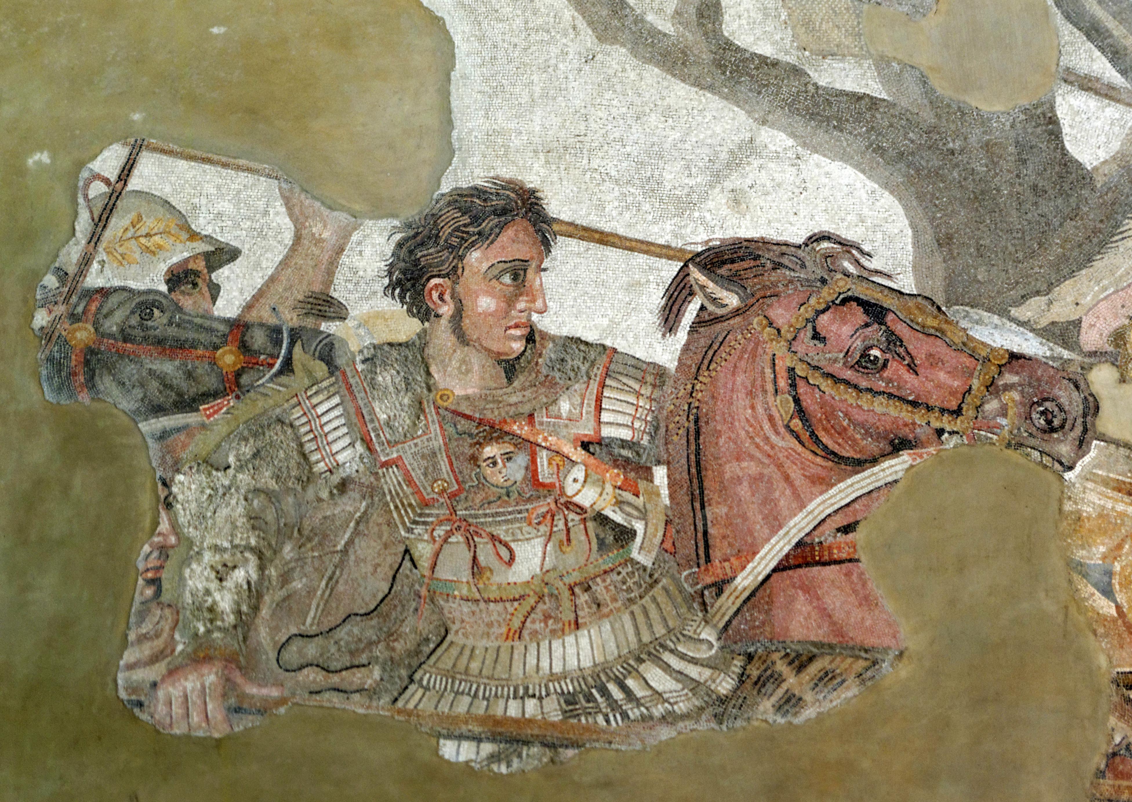 Alexander und Bucephalus