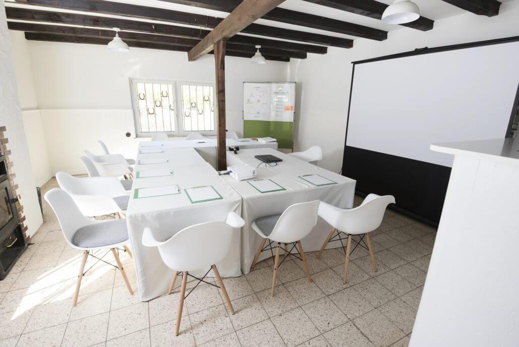 Führungskräftetraining Vortragsraum